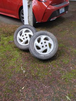 Two (2) Factory Toyota Corolla S (1998-2002) Alloy Wheels for Sale in Brush Prairie,  WA