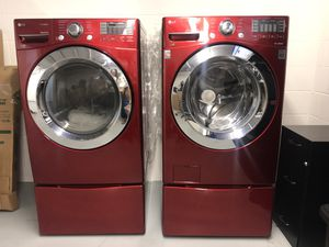 LG Washer and Dryer for Sale in Houston, TX