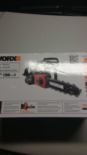 40V Cordless Chainsaw Brand New in BOX!! for Sale in South Salt Lake, UT