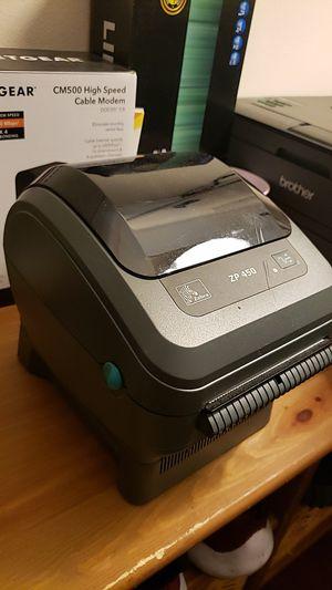 Zebra ZP 450 Thermal shipping label printer for Sale in Las Vegas, NV