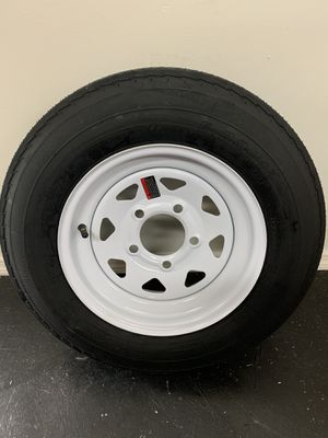 New st225/75r15 on a new rim. $100 for Sale in Fort Pierce, FL