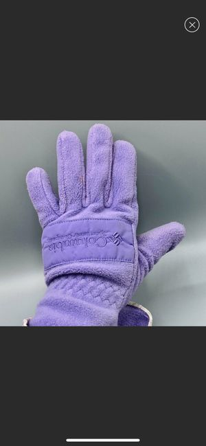 Columbia Women's Small Purple Gloves for Sale in Sanford, ME
