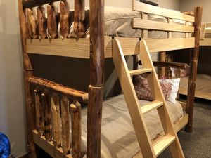 Rustic Pine Bunk Beds (3) sets for Sale in Park City, UT