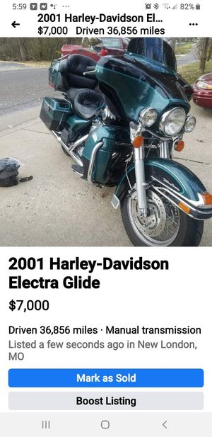 2001 Harley Davidson Electra glide for Sale in New London, MO