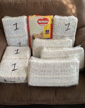 Huggies diapers (size 1) for Sale in Henderson, NV