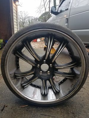 24in Wheels & Tires for Sale in Atlanta, GA