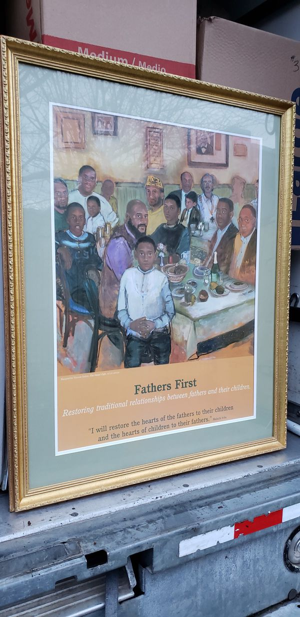 Fathers First - Wall Art
