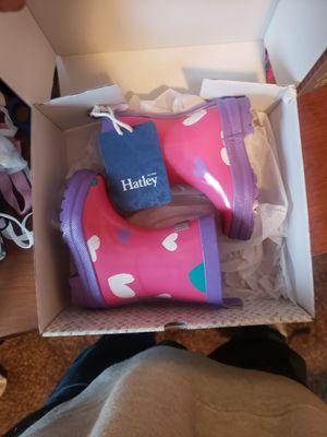Girls 5c rain boots for Sale in Kennewick, WA
