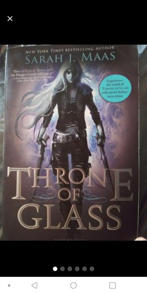 Throne of glass book by Sarah J. Maas for Sale in Encinitas, CA