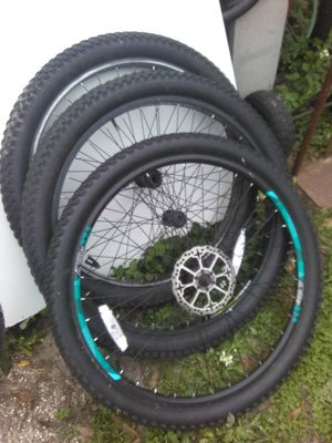 3) 27.5 Bicycle TIRES 25.00 EACH for Sale in Tampa, FL