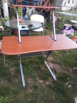 Solid wooden & metal Desk for Sale in Lexington, KY