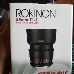 ROKINON 85mm T1.5 Full Frame Lens for Sale in Laurel, MD