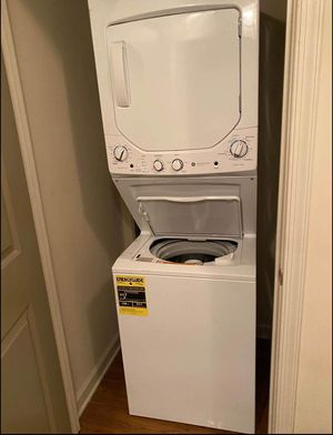 Brand new electric stackable washer and dryer for Sale in Belleair, FL