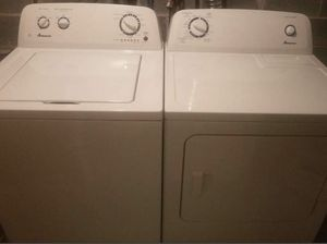 "27"" AMANA WASHER AND DRYER FOR SALE for Sale in Brooklyn, NY"