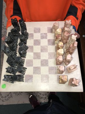 Antique chess set for Sale in Silver Spring, MD