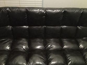 1 Piece Black Futon for Sale in Austin,  TX