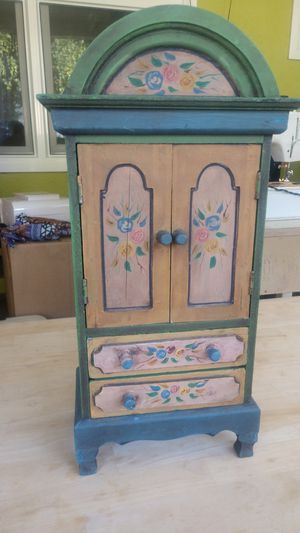 Antique jewelry box for Sale in Whittier, CA