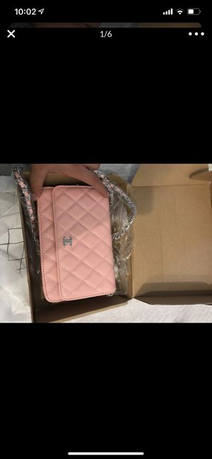 Chanel wallet on a chain caviar pink for Sale in Rockville Centre, NY