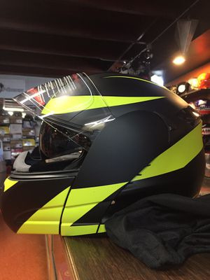 New flat black and neon dot motorcycle helmet $120 for Sale in Whittier, CA