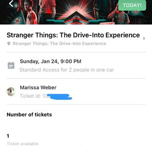 TONIGHT! STRANGER THINGS EXPERIENCE for Sale in Los Angeles, CA