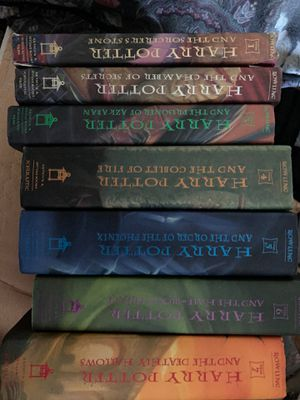 All 7 Harry Potter books hardback for Sale in Lake Arrowhead, CA