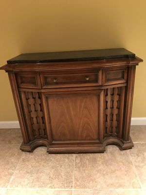 Vintage marble top entry table/console for Sale in St. Louis, MO
