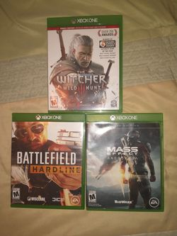 3 Xbox One Games for Sale in Green Bay, WI