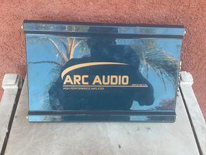 AMPLIFICADOR AMPLIFIER ARC AUDIO 2 CHANELS GOOD CONDICIÓN ABLO ESPAÑOL for Sale in Stockton, CA