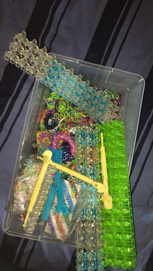 Rainbow loom collection for Sale in Easton, PA