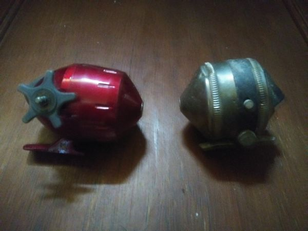 Two Really Good Fishing Reels(1 is an Antique Fishing Reel)