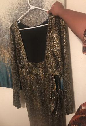 Snakeskin print Glittery Dress-Fashionnova for Sale in Altamonte Springs, FL