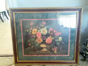 Home Interior: Painting of Flowers in Vase by Albert Williams for Sale in Las Vegas, NV