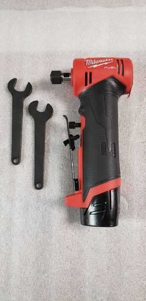 """Milwaukee M12 Fuel 2"""" Straight Die Grinder With 2.0 Battery ***$170 FIRM*** for Sale in Phoenix, AZ"""