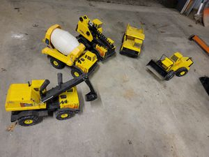 Vintage Tonka Truck Toys - 5 trucks for Sale in Baltimore, MD