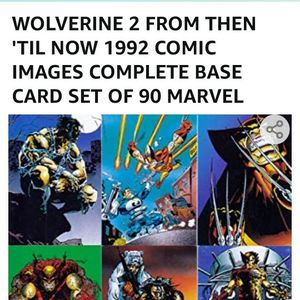 Comic Cards 1992 Wolverine 2 Complete Set In Mint Condition for Sale in Spring Valley, CA