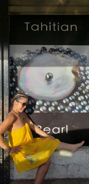 Tahitian Pearl Necklace, Earings, & Bracelet for Sale in San Diego, CA
