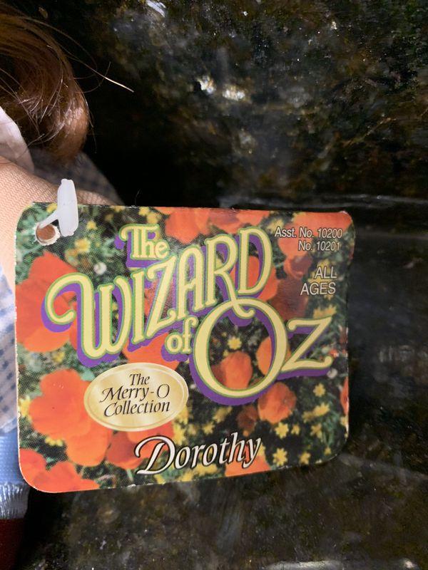 Wizard of Oz beanie babies