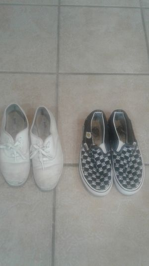 Women's shoes (sizes 5 & 7) and shirts (sizes medium, large, and XL) for Sale in Katy, TX