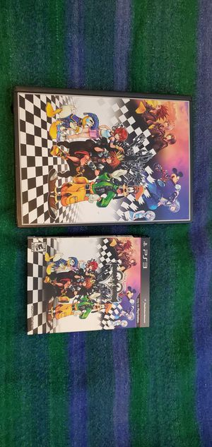 Kingdom Hearts 1.5 Remix Guide + Game PS3 for Sale in Houston, TX