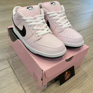 Nike SB Dunk Low Pink Box Size 12 for Sale in Fremont, CA