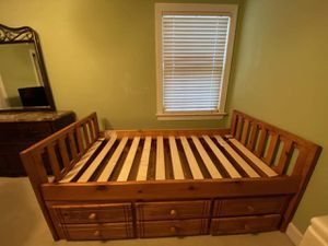 Twin bed frame w/ storage for Sale in Virginia Beach, VA