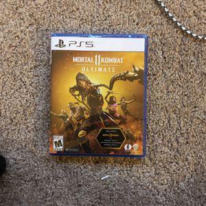 Mortal Kombat 11 Ultimate PS5 for Sale in Grand Prairie, TX
