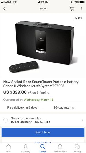 Bose soundtouch rechargeable battery for Sale in Silver Spring, MD