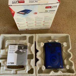 Iomega Zip 100MB USB-powered Drive for Sale in Menifee, CA