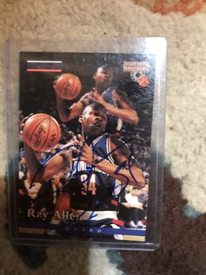 Ray Allen Rookie Autograph for Sale in Willowbrook, IL