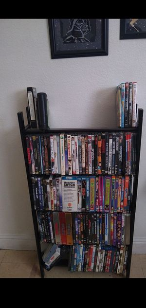 DVD & BLU-RAY LOT - TV SERIES, 80'S CLASSICS, SOME NEW FACTORY SEALED & MORE. NO RENTALS, EXCELLENT CONDITION. STAND INCLUDED for Sale in Fresno, CA