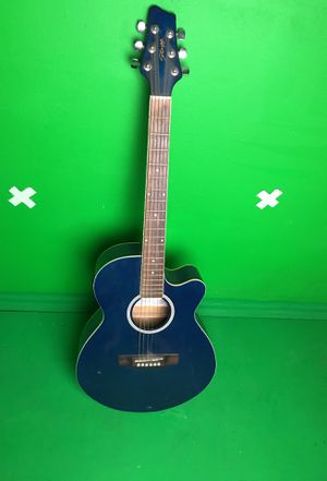 Stagg Electric Acoustic Guitar (navy blue) for Sale in West Los Angeles, CA