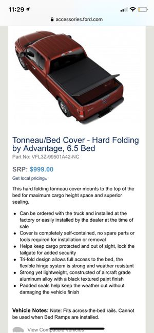 2015-2020 F150 6.5ft bed tri fold Tonneau Cover for Sale in Long Beach, CA