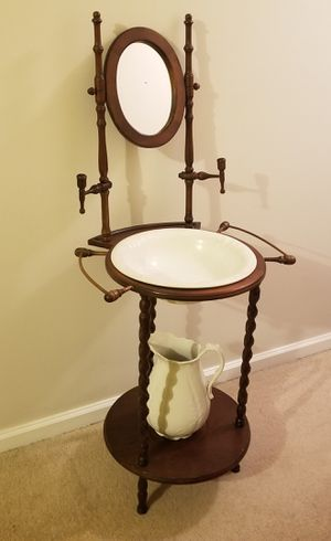 Antique wash basin for Sale in Fairfax, VA