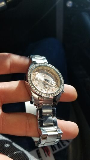 Fossil brown analog... rose pink watch for Sale in Tucson, AZ